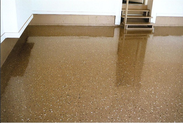 Epoxy Paint For Metal : Epoxy flooring poured residential