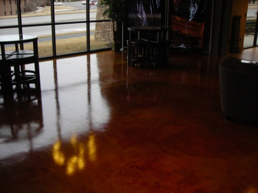 Concrete Staining In Wichita Ks And Surround Areas