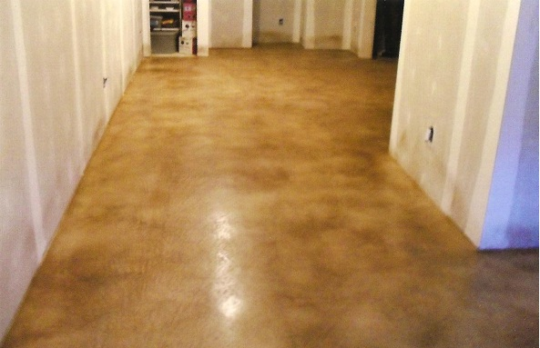 Concrete polished floor polished concrete noise for Residential concrete floor wax