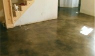 Polished concrete installer in kansas stonecraft floors for Residential concrete floor wax